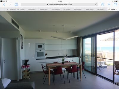 Photo for Apartment by the sea in Kokkini Hani, Heraklion, for rent in winter