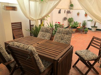 Photo for City life & beach holiday, large private patio in Centro historico. Apt 1 of 2.