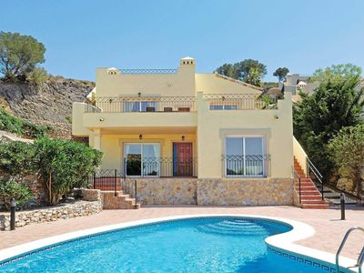Photo for 3 bedroom Villa, sleeps 6 in Atamaría with Pool, Air Con and WiFi