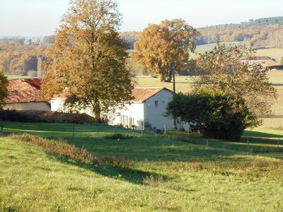 Photo for Characterful and Spacious 2 Bedroom Gite, Sleeps 4 with Dedicated Pool