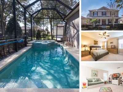 Photo for W090 - Luxury 4 Bedroom Vacation Home in Kissimmee