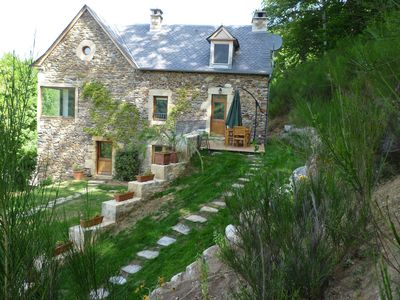 Photo for lodgings of wilderness full house traditional house Aveyronnaise in stone