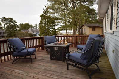 Welcome to Jay's Retreat.  Enjoy the firepit on the deck