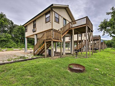 Photo for NEW! White River Cabin w/Grill & Resort Amenities