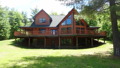 Photo for Spectacular Home w/Views, Hot Tub & Sauna, Whiteface & Lake Placid, 3D/VR Tour