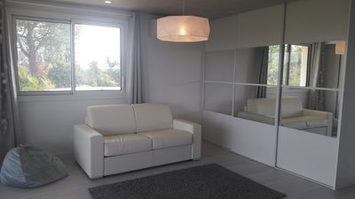 Photo for Studio 30m2 air-conditioned / spa access