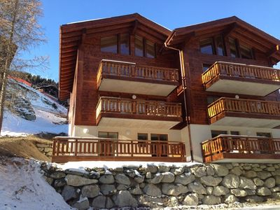 Photo for Grimentz - Fabulously Located - Beautiful New 5 bedroom Luxury Duplex Apartment