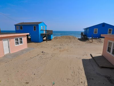 Photo for 204 - Nags Head Ocean-Side Rental that's Literally Steps to the Beach