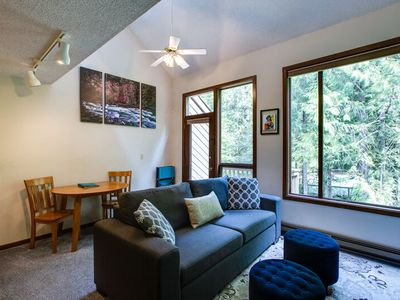 Photo for Snowater Condo #14 - Fireplace - Dishwasher - Washer/Dryer - Sleeps 6
