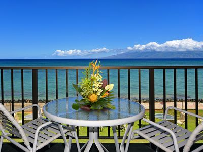 Photo for Ocean Front Unit on the Sea! Relax Enjoy the View! KA210
