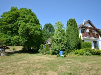 Photo for House in its own grounds on the edge of the forest, 2 km outside the village