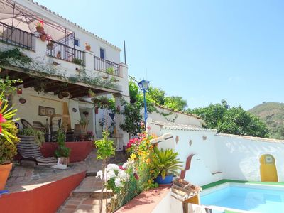 Photo for Holiday Home Villa Carlitos with Mountain View, Balcony, Terrace, Garden & Pool; Street Parking Available