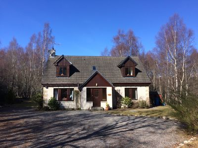 Photo for QUIET MODERN COTTAGE WITH HOT TUB CAIRNGORMS NATIONAL PARK