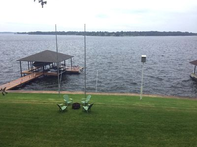 Photo for Large 6- Bedroom Lake Front Home - Sleeps 20   SPECIAL RATES OCT & NOV