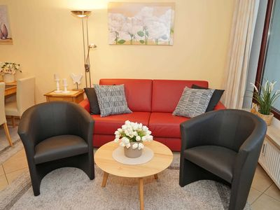 Photo for Apartment overlooking the Baltic Sea - sunny apartment - just a few meters to the beach
