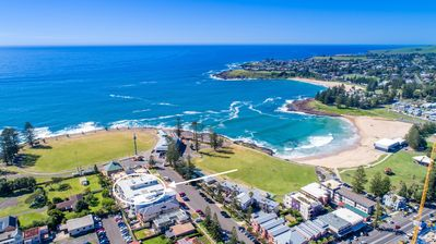 Oceanview Kiama located at front of the Bluewater Apartments facing the beach