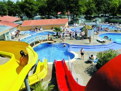 Photo for Family Camping Club Lou Pignada ***** - 2 bedrooms (6 to 10 years)
