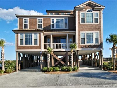 Photo for FOOTPRINTS ON THE SAND, 9 Bedroom, 8.5 Bath, Oceanfront, 2 Private Pools!!!!!!!