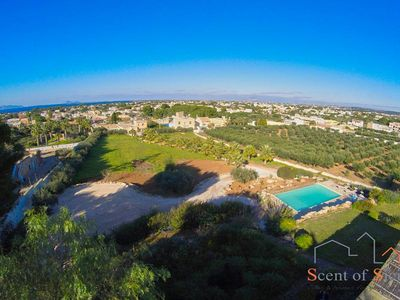 Photo for A peaceful summer villa with a view on the coast