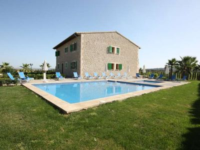 Photo for 6BR Farmhouse Vacation Rental in Petra, Islas Baleares