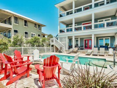 Photo for Beautiful Emerald Coast views, private pool, S. of 30A, Sleeps 30