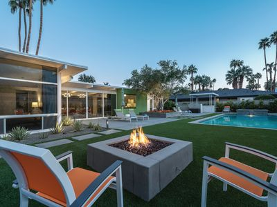 Photo for Deepwell Estates | Updated Mid-Century with Pool/Spa, Firepit and Mountain Views