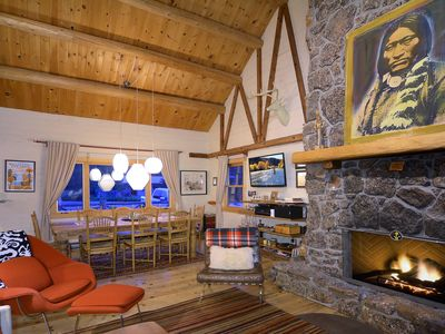 Photo for Historic Cabin with Incredible Views and Hot Tub/Great Outdoor Decks!