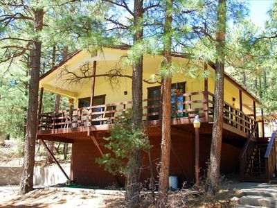 Photo for Nice Cabin in the Tall Pines - Wrap Around Deck