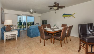 Photo for Set sail in this beautiful coastal themed 3/2 Condo with gorgeous ocean views OW13-305