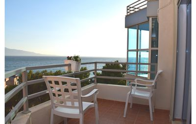 Photo for 1BR Apartment Vacation Rental in Saranda
