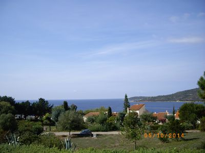 Photo for Beautiful villa for 8 people with stunning panoramic views near the sea