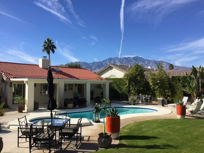 Photo for SPECTACULAR LUXURY PALM SPRINGS HOME, POOL,SPA & GARDENS