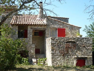 Photo for La Maison du Rempart in Lussan, medieval house made with stones of the region