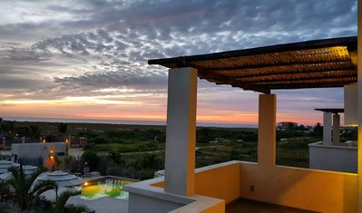 Photo for Vista Tortuga Ocean View VILLA-SUNSET Heated Pool by the BEACH