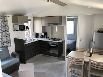 Photo for Mobile home comfort in the heart of the Landes