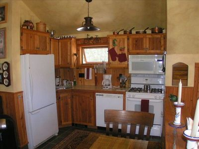 Full Kitchen with DW, Frig/ice maker, range/oven, microwave.