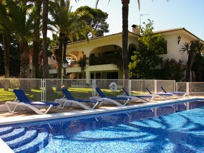 Photo for Large Luxury Family Home With Private Tennis Court And Swimming Pool