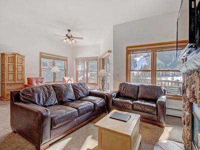 Photo for Top Floor 3 Bedroom Condo with Slope Views in Hidden River! Walk to the Slopes!