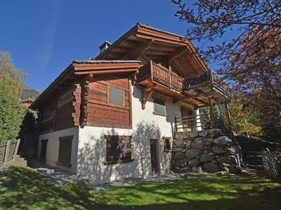Photo for Beautiful chalet in the center of Verbier, in 5 minutes of the central place. Big south balcony and