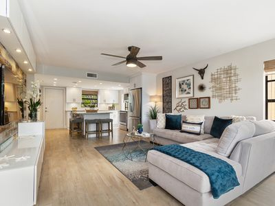 Photo for Waterfront Town Home on a Lagoon, Newly Renovated, Luxurious Furnishings & Decor