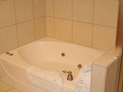 Master Bath with Whirlpool Tub