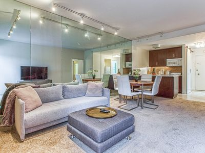 Photo for Lovely, dog-friendly condo w/ a shared, outdoor pool & on-site golf