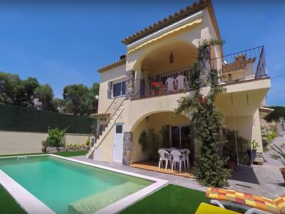 Photo for Club Villamar - Cozy villa  with saltwater pool with panoramic views