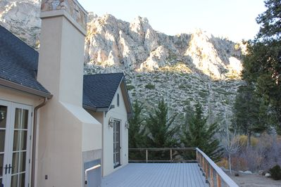 One of the views from the large back deck.
