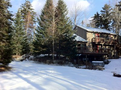 Photo for Hideaway Chalet Upper Level -Luxury Apartment Great Location, Hot Tub, Deck