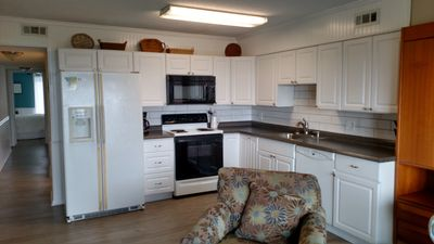 Photo for Relaxing Oceanfront Unit  - Walking Distance To Downtown - Family/ Pet Friendly