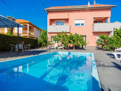 Photo for Apartment Fortuna with pool A5 6 pax Zadar Diklo