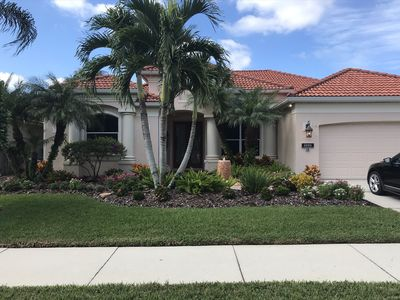 Photo for Beautiful 3br home tucked away on the Golf Course with private pool