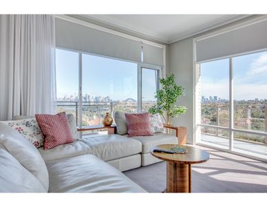 Photo for Huge, light-filled apartment with epic city view