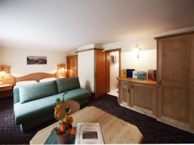 Photo for Double room with shower, toilet, comfort - Schweizerhof, organic farm